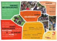Einladung an junge Erwachsene eine Woche Ferien mit jungen Flüchtlingen zu erleben